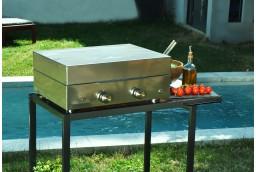 Plancha gaz émaillé Simplicity
